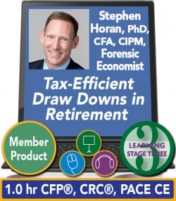Horan – Tax-Efficient Draw Downs in Retirement