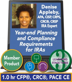Appleby – Year-end Planning and Compliance Requirements for IRAs