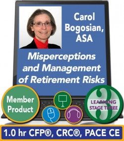 Bogosian – Misperceptions and Management of Retirement Risks