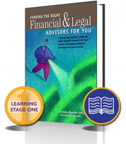 Meredith – Finding the Right Financial and Legal Advisors for You – PRINT