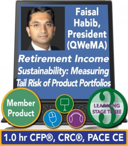 Habib – Retirement Income Sustainability: Measuring the Tail Risk of Product Portfolios
