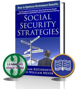 Reichenstein & Meyer – Social Security Strategies: How to Optimize Retirement Benefits – Print book