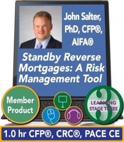 Salter – Standby Reverse Mortgages: A Risk Management Tool for Retirement Distributions