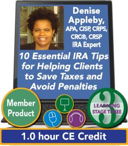 Appleby – 10 Essential IRA Tips for Helping Clients Save Taxes and Avoid Penalties