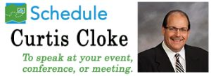 Schedule Curtis Cloke for your next event