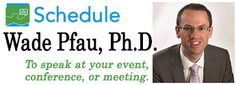 Schedule Wade Pfau for your retirement meetings, conferences, or events.